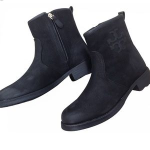 Tory Burch Simone Black Booties Ankle boots 6.5